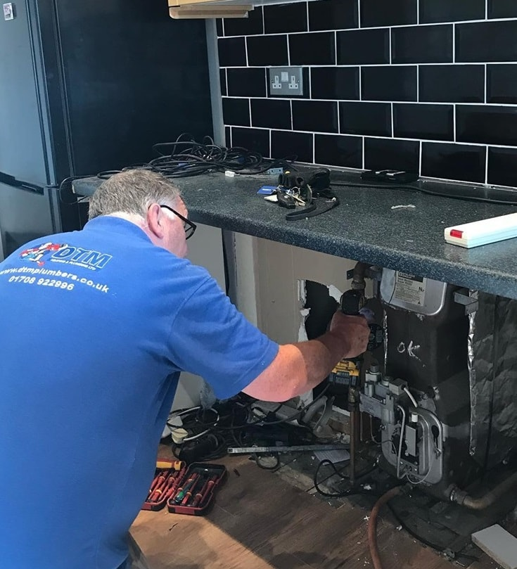 DTM Plumber At Work