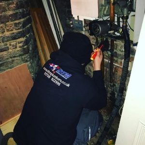 repairing gas central heating